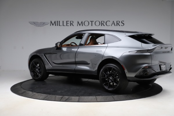 New 2021 Aston Martin DBX SUV for sale $229,486 at Maserati of Westport in Westport CT 06880 3