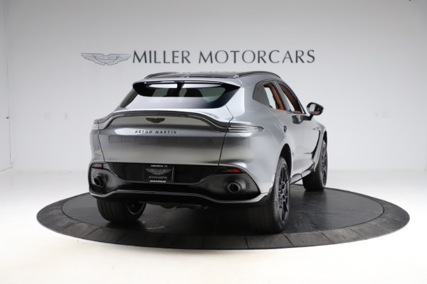 New 2021 Aston Martin DBX SUV for sale $229,486 at Maserati of Westport in Westport CT 06880 6