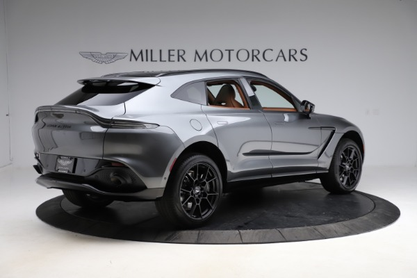 New 2021 Aston Martin DBX SUV for sale $229,486 at Maserati of Westport in Westport CT 06880 7