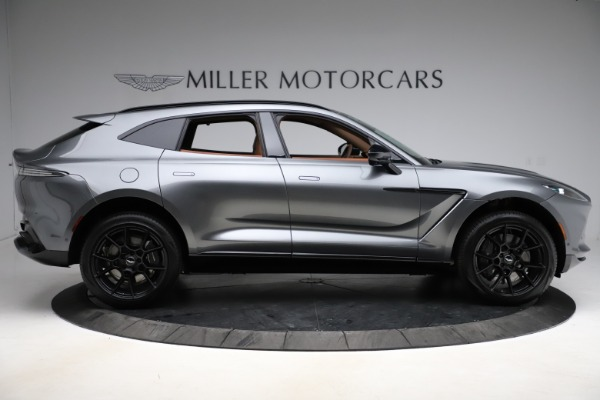New 2021 Aston Martin DBX SUV for sale $229,486 at Maserati of Westport in Westport CT 06880 8