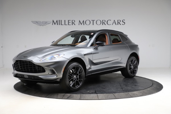 New 2021 Aston Martin DBX SUV for sale $229,486 at Maserati of Westport in Westport CT 06880 1