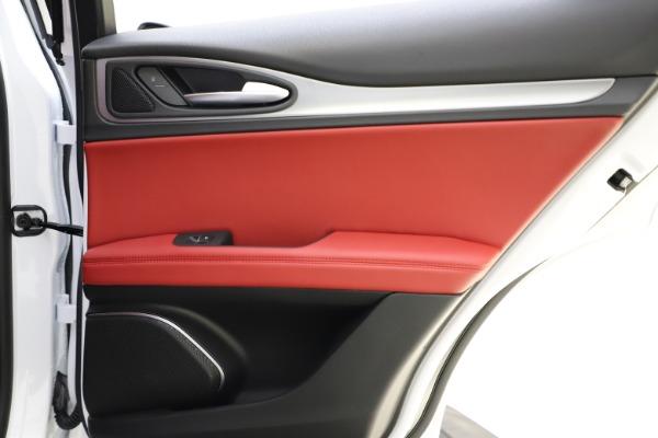 New 2020 Alfa Romeo Stelvio Ti Sport Q4 for sale Sold at Maserati of Westport in Westport CT 06880 28
