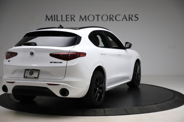 New 2020 Alfa Romeo Stelvio Ti Sport Q4 for sale Sold at Maserati of Westport in Westport CT 06880 7