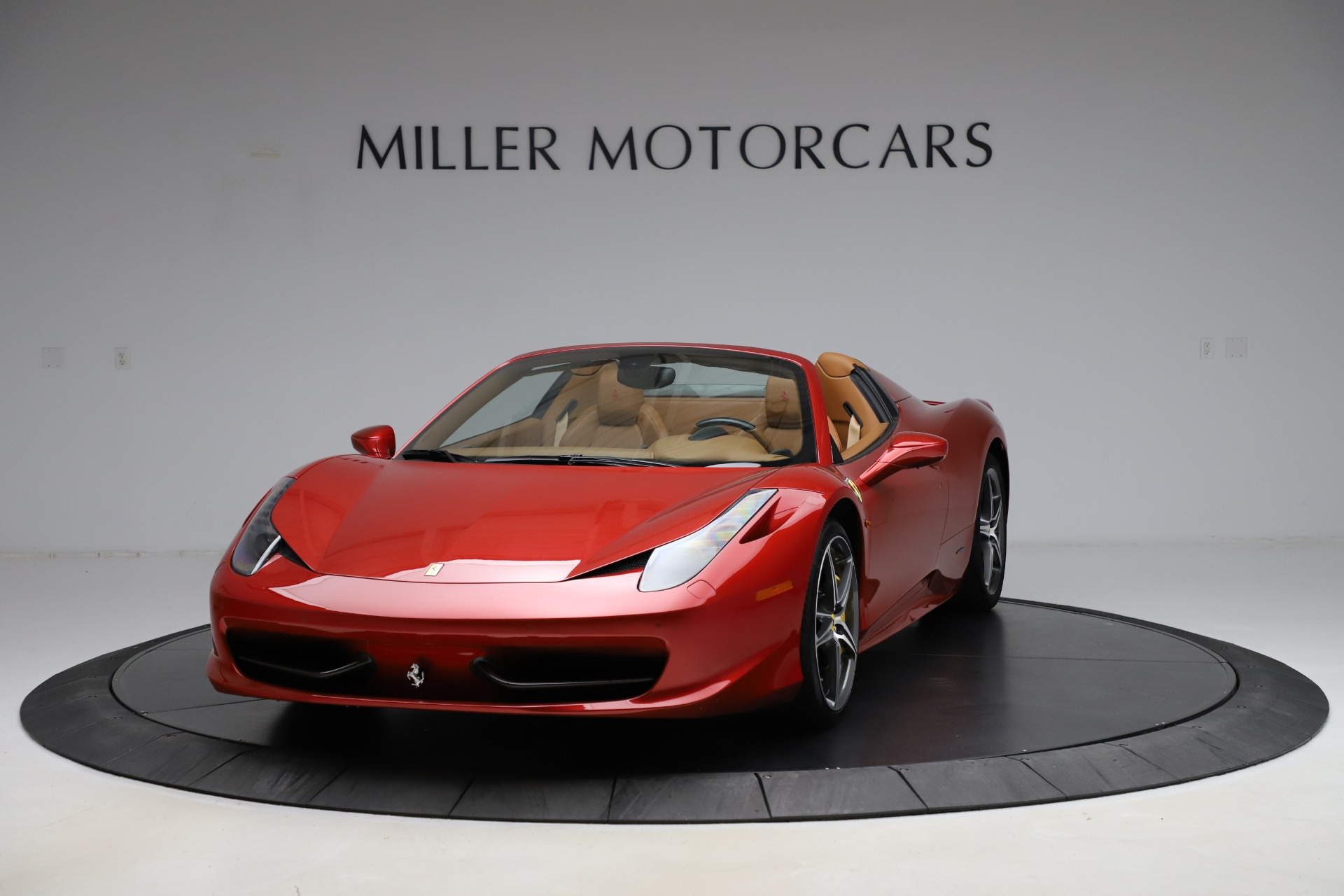 Pre Owned 2013 Ferrari 458 Spider For Sale Special Pricing Maserati Of Westport Stock 4740
