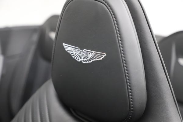 New 2021 Aston Martin DB11 Volante Convertible for sale $254,416 at Maserati of Westport in Westport CT 06880 23