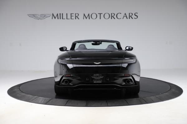 New 2021 Aston Martin DB11 Volante Convertible for sale $254,416 at Maserati of Westport in Westport CT 06880 5