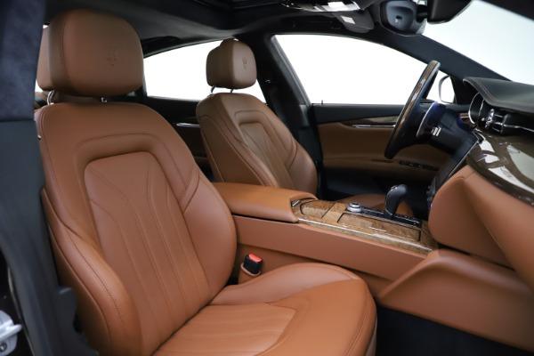 Used 2018 Maserati Quattroporte S Q4 GranLusso for sale Sold at Maserati of Westport in Westport CT 06880 23