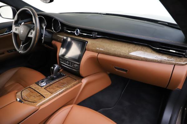 Used 2018 Maserati Quattroporte S Q4 GranLusso for sale Sold at Maserati of Westport in Westport CT 06880 25