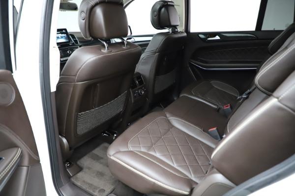 Used 2018 Mercedes-Benz GLS 550 for sale $67,900 at Maserati of Westport in Westport CT 06880 19