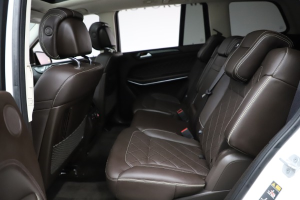 Used 2018 Mercedes-Benz GLS 550 for sale $67,900 at Maserati of Westport in Westport CT 06880 20