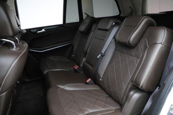 Used 2018 Mercedes-Benz GLS 550 for sale $67,900 at Maserati of Westport in Westport CT 06880 21