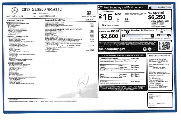 Used 2018 Mercedes-Benz GLS 550 for sale $67,900 at Maserati of Westport in Westport CT 06880 27