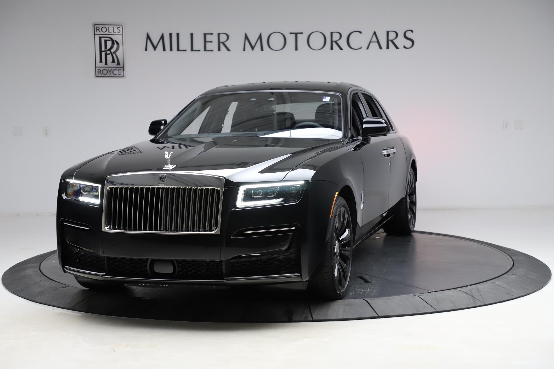 New 2021 Rolls-Royce Ghost for sale $370,650 at Maserati of Westport in Westport CT 06880 1