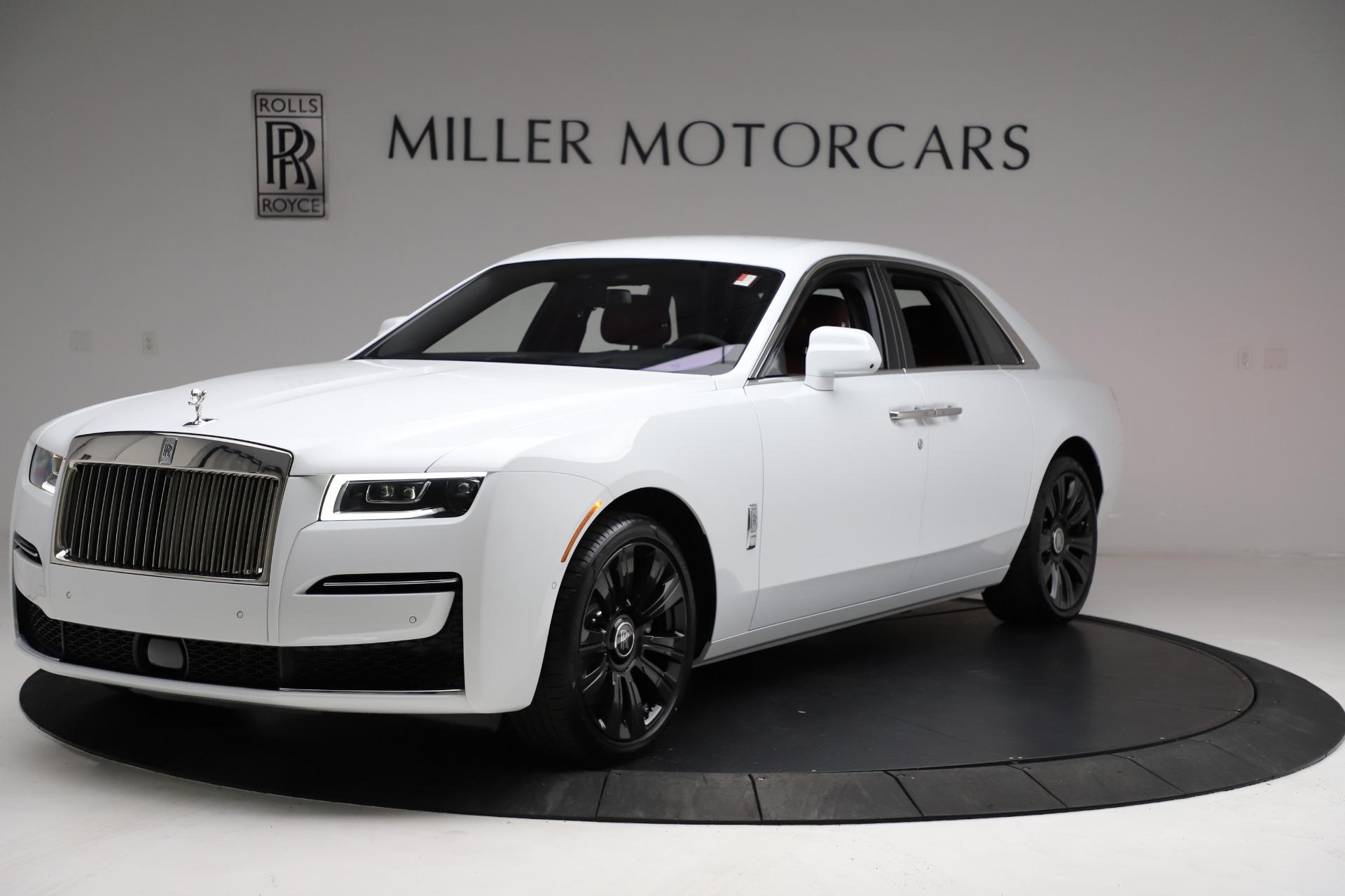New 2021 Rolls-Royce Ghost for sale $390,400 at Maserati of Westport in Westport CT 06880 1