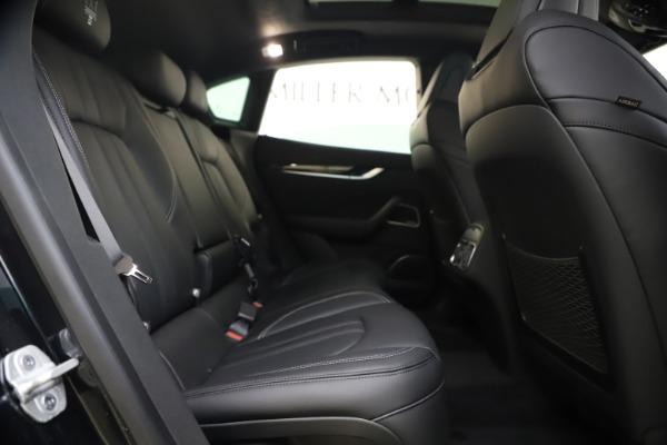 New 2021 Maserati Levante S Q4 GranSport for sale $107,135 at Maserati of Westport in Westport CT 06880 28