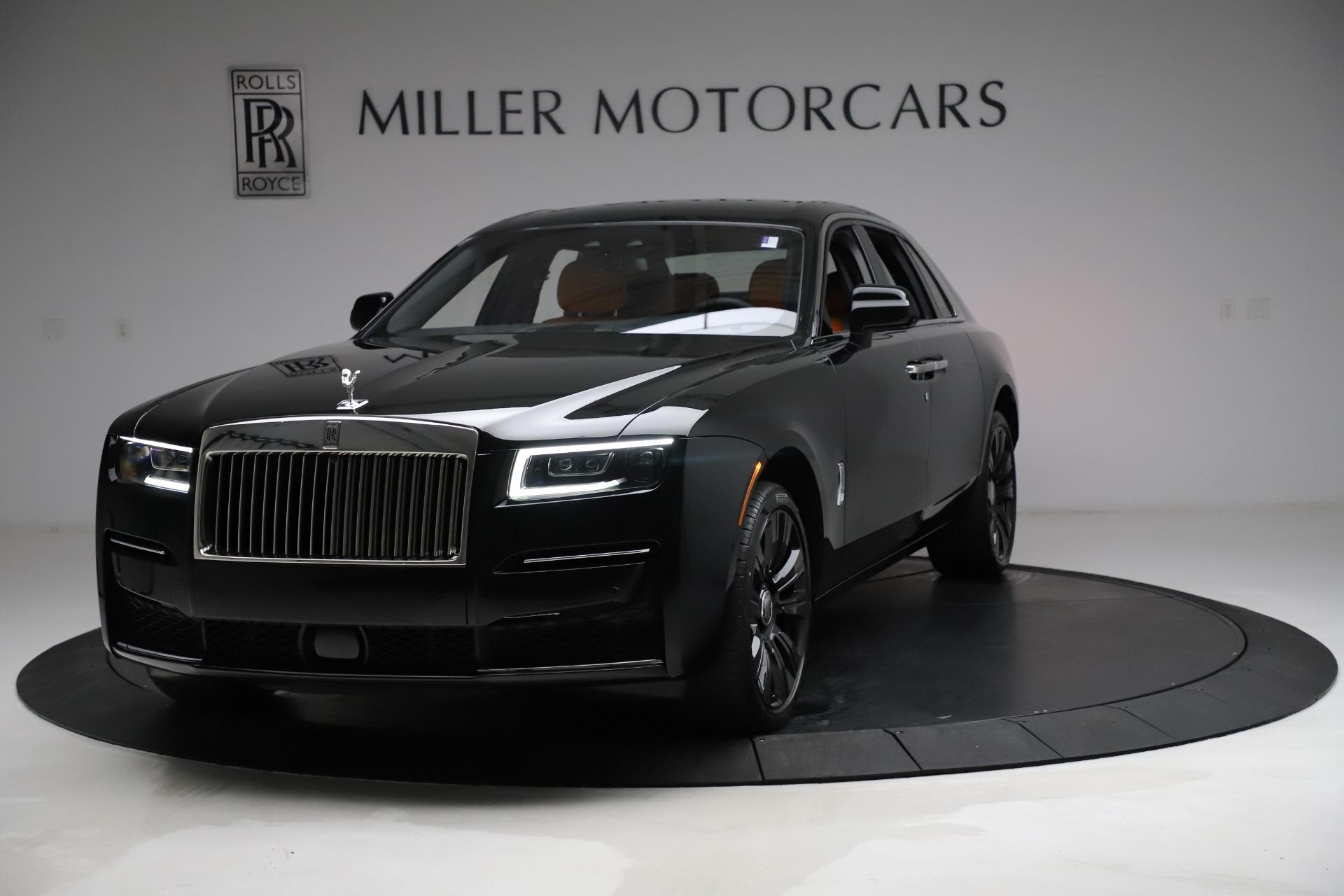 New 2021 Rolls-Royce Ghost for sale Sold at Maserati of Westport in Westport CT 06880 1