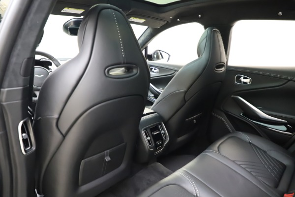 New 2021 Aston Martin DBX for sale $201,586 at Maserati of Westport in Westport CT 06880 19
