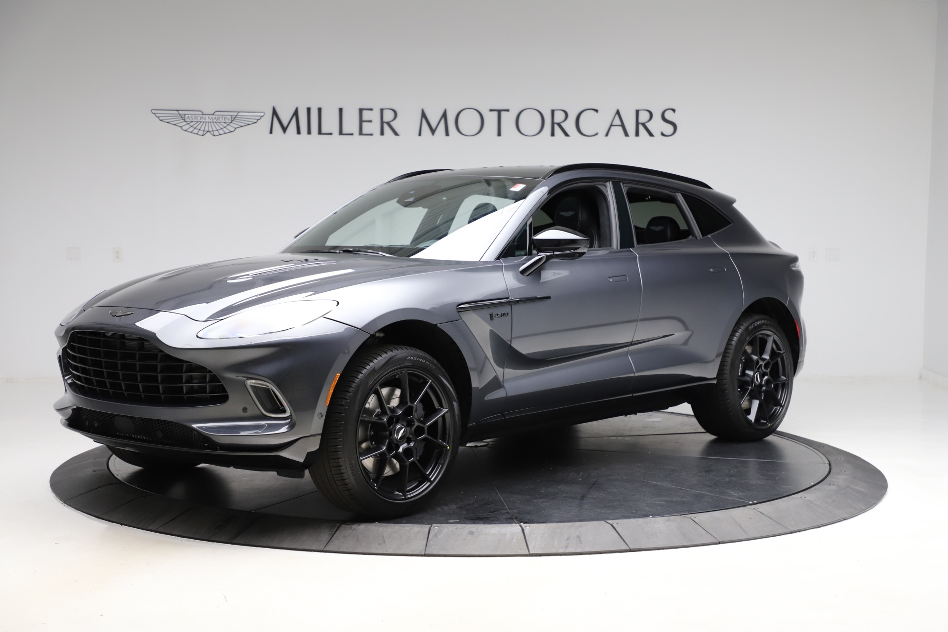 New 2021 Aston Martin DBX for sale $201,586 at Maserati of Westport in Westport CT 06880 1