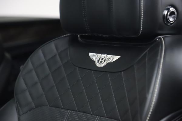 Used 2018 Bentley Bentayga W12 Signature Edition for sale $149,900 at Maserati of Westport in Westport CT 06880 21