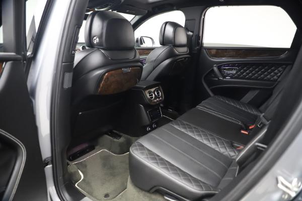 Used 2018 Bentley Bentayga W12 Signature Edition for sale $149,900 at Maserati of Westport in Westport CT 06880 22