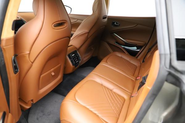 New 2021 Aston Martin DBX for sale $226,136 at Maserati of Westport in Westport CT 06880 16
