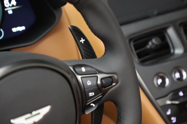 New 2021 Aston Martin DBS Superleggera Volante Convertible for sale $402,786 at Maserati of Westport in Westport CT 06880 19