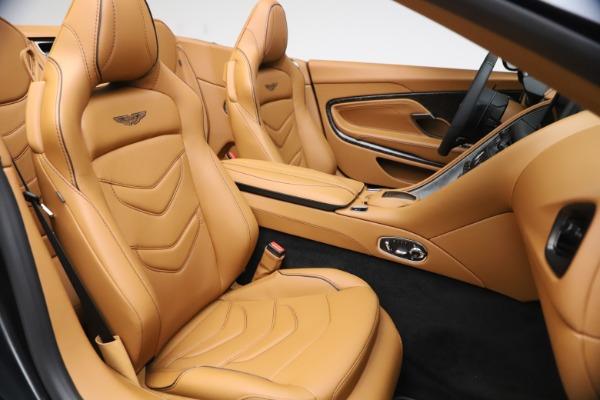 New 2021 Aston Martin DBS Superleggera Volante Convertible for sale $402,786 at Maserati of Westport in Westport CT 06880 23