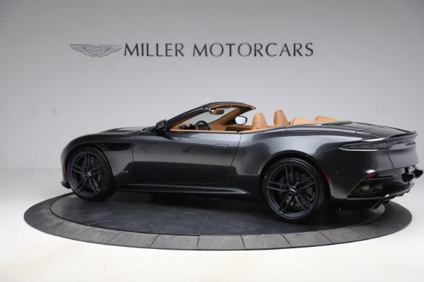 New 2021 Aston Martin DBS Superleggera Volante Convertible for sale $402,786 at Maserati of Westport in Westport CT 06880 3