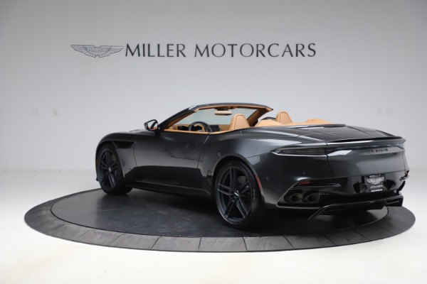 New 2021 Aston Martin DBS Superleggera Volante Convertible for sale $402,786 at Maserati of Westport in Westport CT 06880 4