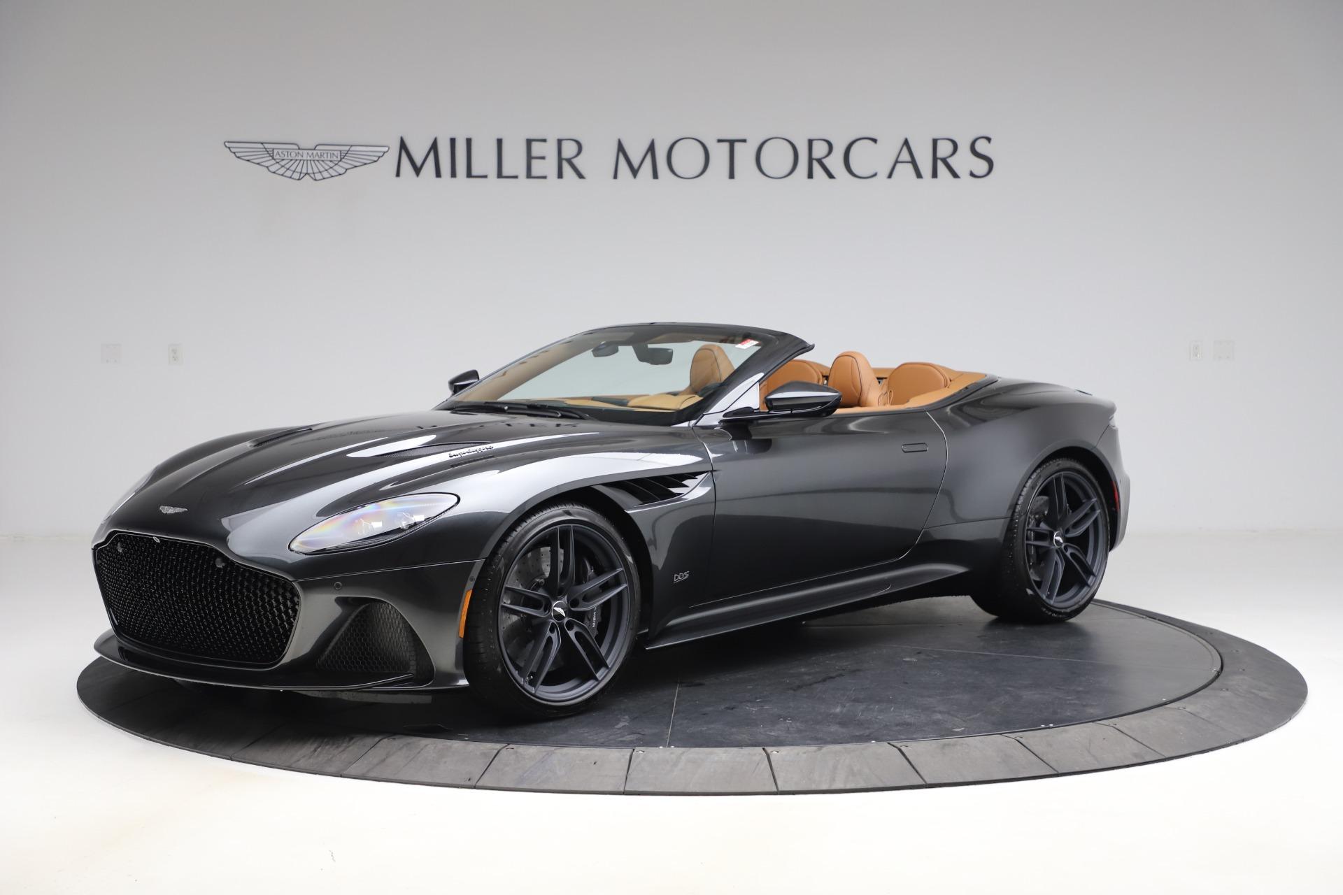 New 2021 Aston Martin DBS Superleggera Volante Convertible for sale $402,786 at Maserati of Westport in Westport CT 06880 1