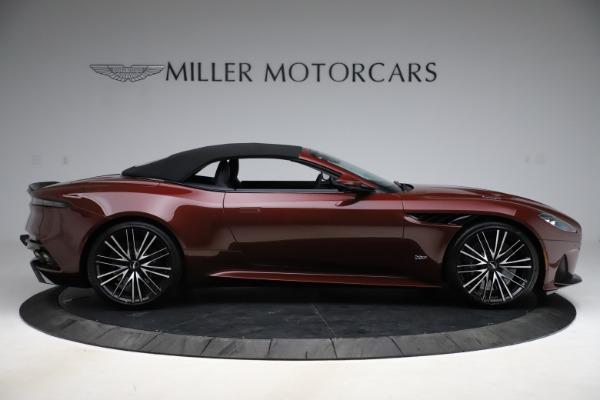 New 2021 Aston Martin DBS Superleggera Volante for sale $362,486 at Maserati of Westport in Westport CT 06880 12