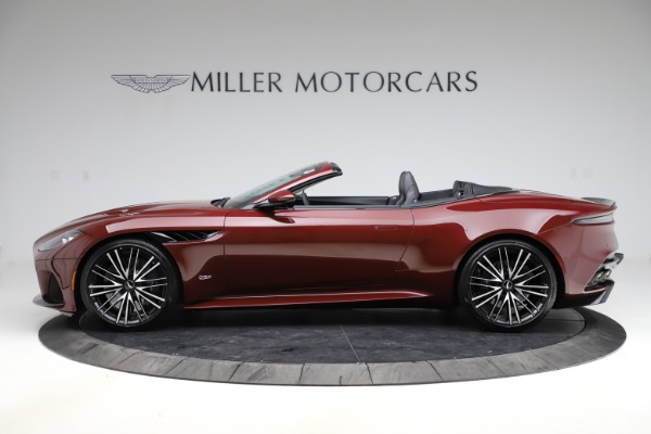 New 2021 Aston Martin DBS Superleggera Volante for sale $362,486 at Maserati of Westport in Westport CT 06880 2