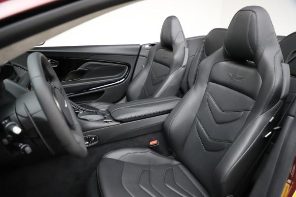 New 2021 Aston Martin DBS Superleggera Volante for sale $362,486 at Maserati of Westport in Westport CT 06880 20