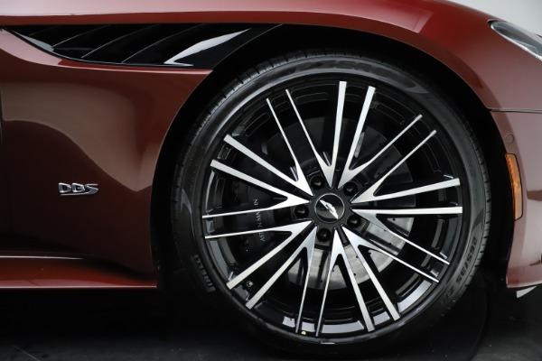 New 2021 Aston Martin DBS Superleggera Volante for sale $362,486 at Maserati of Westport in Westport CT 06880 24