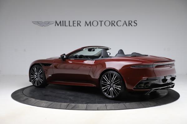 New 2021 Aston Martin DBS Superleggera Volante for sale $362,486 at Maserati of Westport in Westport CT 06880 3