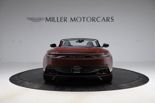 New 2021 Aston Martin DBS Superleggera Volante for sale $362,486 at Maserati of Westport in Westport CT 06880 5