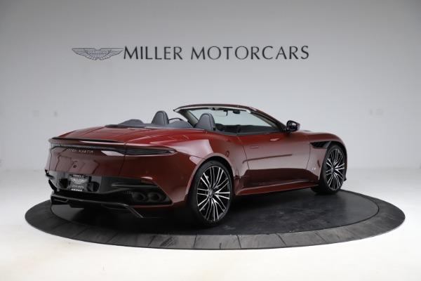New 2021 Aston Martin DBS Superleggera Volante for sale $362,486 at Maserati of Westport in Westport CT 06880 7