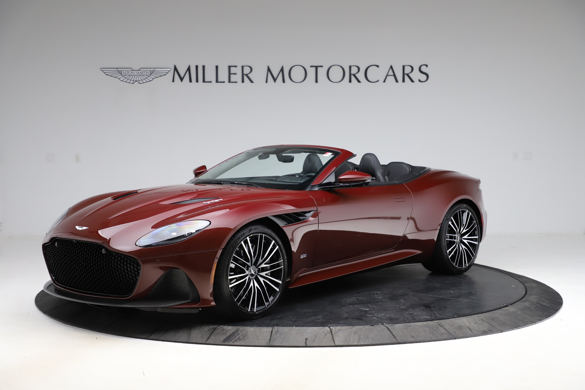 New 2021 Aston Martin DBS Superleggera Volante Convertible for sale $362,486 at Maserati of Westport in Westport CT 06880 1