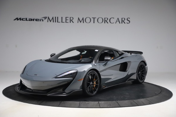 Used 2019 McLaren 600LT Coupe for sale $229,900 at Maserati of Westport in Westport CT 06880 1