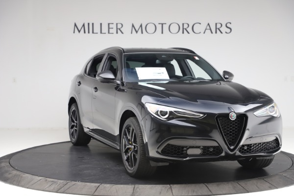 New 2020 Alfa Romeo Stelvio Ti Sport Q4 for sale $49,945 at Maserati of Westport in Westport CT 06880 11