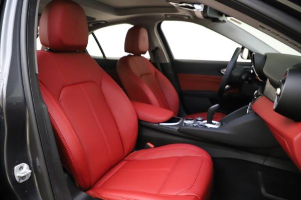 New 2021 Alfa Romeo Giulia Q4 for sale $48,035 at Maserati of Westport in Westport CT 06880 22