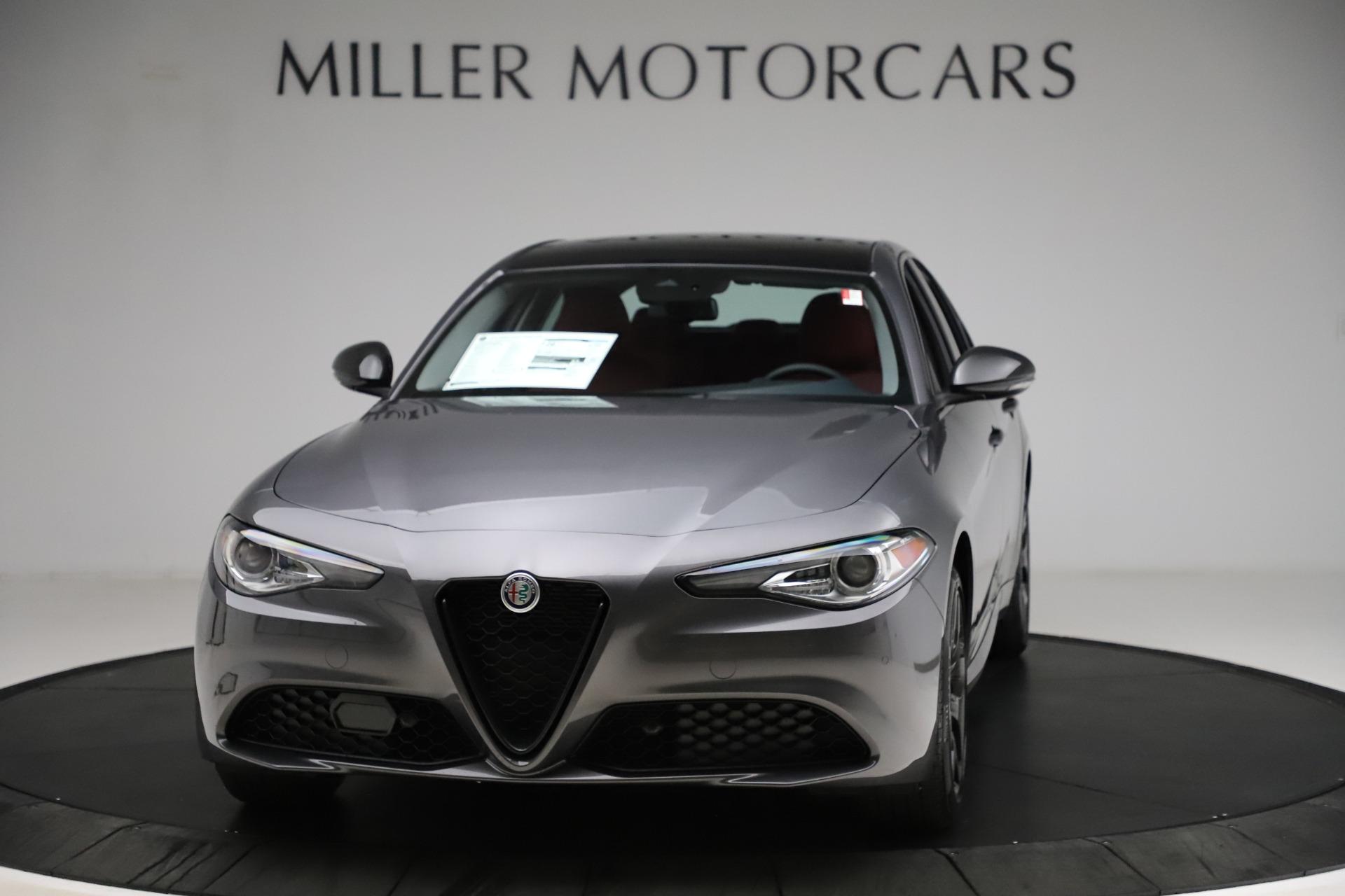 New 2021 Alfa Romeo Giulia Q4 for sale $48,035 at Maserati of Westport in Westport CT 06880 1