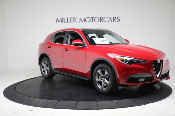 New 2021 Alfa Romeo Stelvio Q4 for sale $47,735 at Maserati of Westport in Westport CT 06880 11