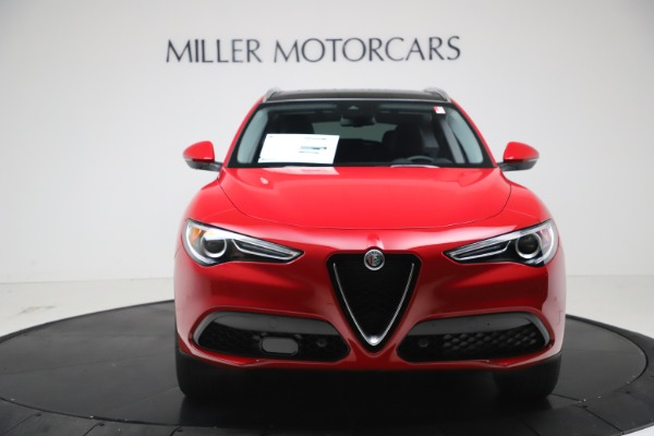 New 2021 Alfa Romeo Stelvio Q4 for sale $47,735 at Maserati of Westport in Westport CT 06880 12