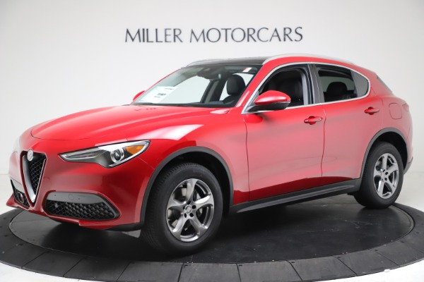 New 2021 Alfa Romeo Stelvio Q4 for sale $47,735 at Maserati of Westport in Westport CT 06880 2