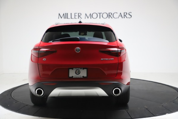 New 2021 Alfa Romeo Stelvio Q4 for sale $47,735 at Maserati of Westport in Westport CT 06880 6