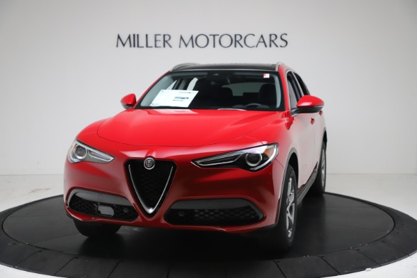 New 2021 Alfa Romeo Stelvio Q4 for sale $47,735 at Maserati of Westport in Westport CT 06880 1