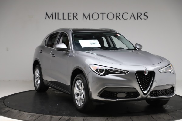 New 2021 Alfa Romeo Stelvio Q4 for sale $48,835 at Maserati of Westport in Westport CT 06880 11