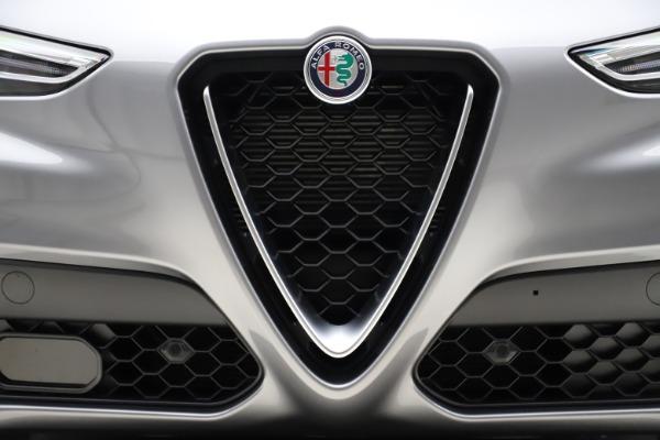 New 2021 Alfa Romeo Stelvio Q4 for sale $48,835 at Maserati of Westport in Westport CT 06880 13