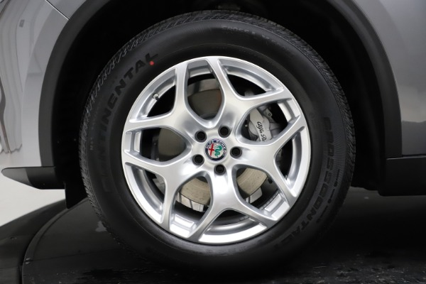 New 2021 Alfa Romeo Stelvio Q4 for sale $48,835 at Maserati of Westport in Westport CT 06880 14